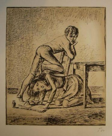Litografía Balthus - Les hauts de hurlevent