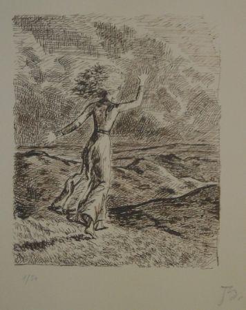Litografía Balthus - Les hauts de hurlevent 2