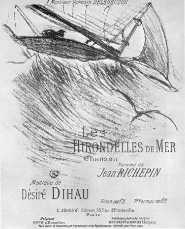 Litografía Toulouse-Lautrec - Les Hirondelles de Mer