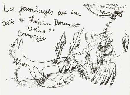 Libro Ilustrado Corneille - Les jambages au cou - Dotremont