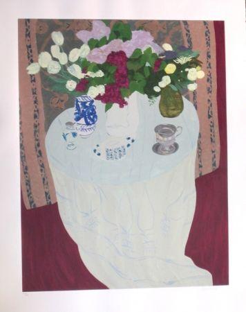 Serigrafía Boncompain - Les lilas du jardin