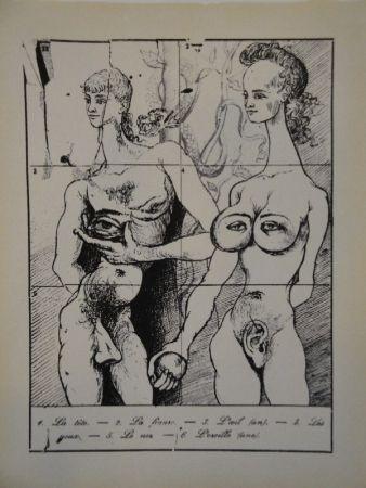 Libro Ilustrado Dali - Les métamorphoses érotiques.