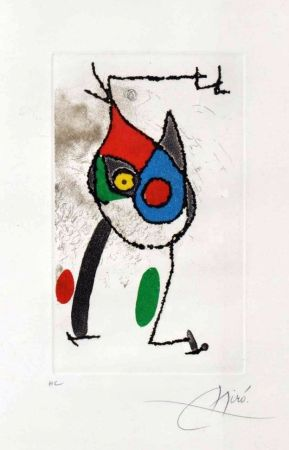 Grabado Miró - Les Magies