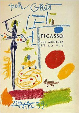 Litografía Picasso - Les Menines Et La Vie