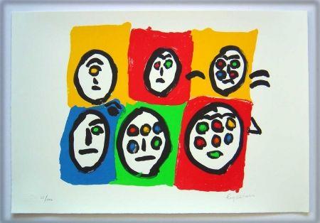 Litografía Ionesco - Les multi-yeux