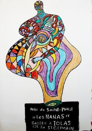 Cartel De Saint Phalle - Les nanas-exposition lolas