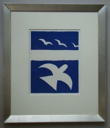 Litografía Braque - Les Oiseaux