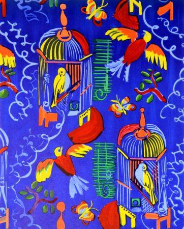Litografía Dufy - Les Oiseaux