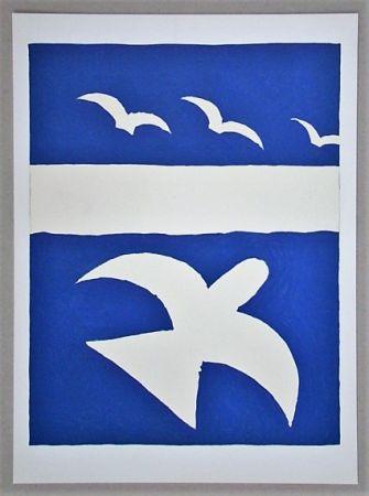 Litografía Braque (After) - Les oiseaux