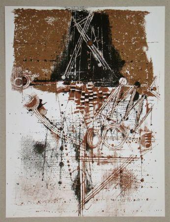 Litografía Friedlaender - Les oiseaux