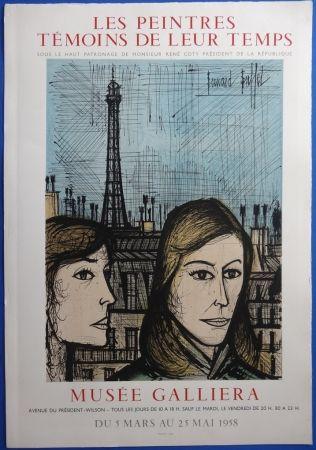 Litografía Buffet - Les Parisiennes (sur Arches)