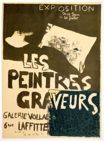 Litografía Bonnard - Les peintres graveurs