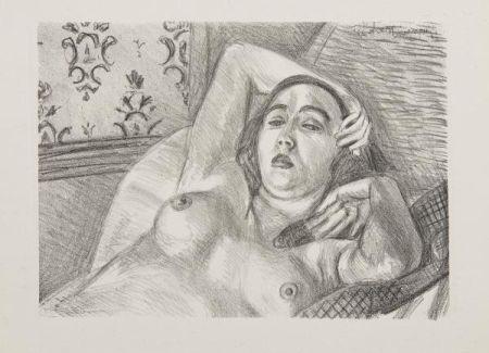 Litografía Matisse - Les Peintres Lithographes de Manet à Matisse, circa 1925.
