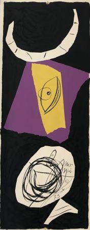 Litografía Miró - Les Penalites de l'Enfer ou Les Nouvelles-Hebrides 1