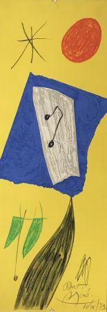 Litografía Miró - Les Penalites de l'Enfer ou Les Nouvelles-Hebrides 2