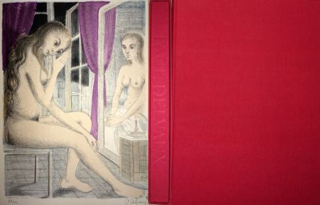 Libro Ilustrado Delvaux - Les Rideaux Mauves (Les Dessins de Paul Delvaux)