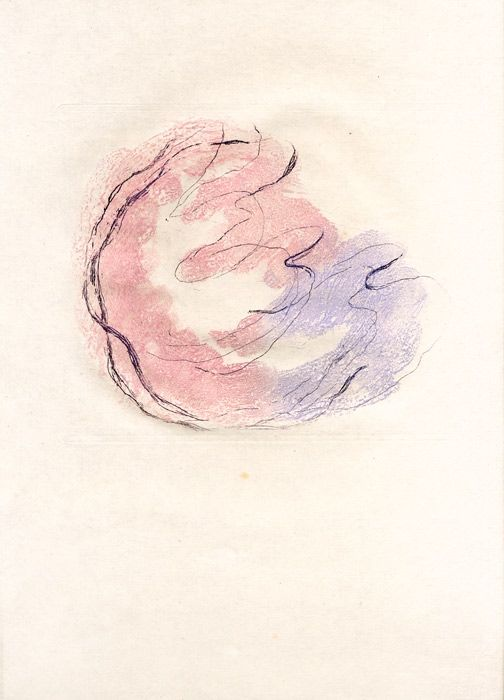 Aguafuerte Y Aguatinta Fautrier - Les seins et le sexe (Fautrier l'enragé)