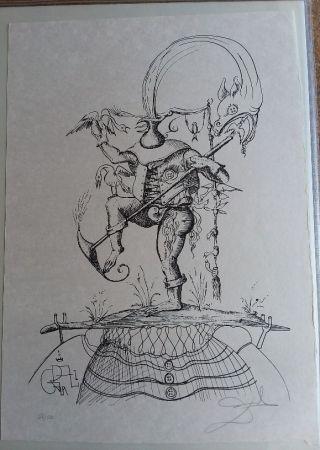 Litografía Dali - Les Songes Drolatiques De pantagruel