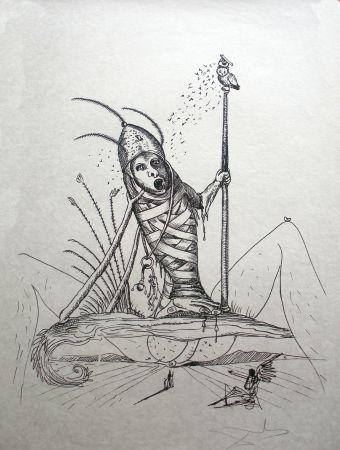 Litografía Dali - Les Songes drolatiques de Pantagruel 15