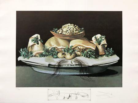 Litografía Dali - LES SUPRENES DE MAILLAISE LILIPUTIENS