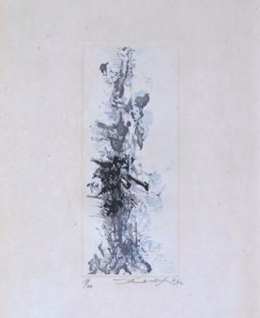 Grabado Zao - Les terrasses de jade