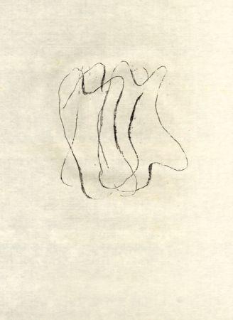 Aguafuerte Fautrier - Les torses nus (fautrier l'enragé)