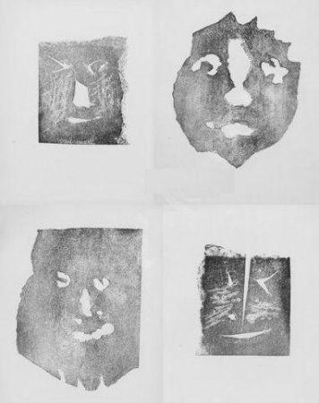 Grabado Picasso - Les transparents