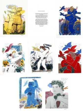 Serigrafía Fassianos - Les travaux des dieux