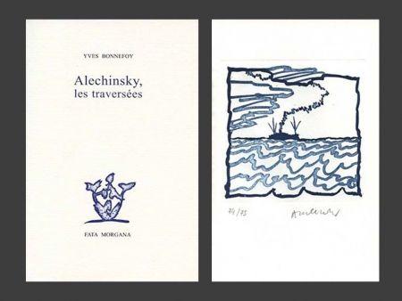 Libro Ilustrado Alechinsky - Les Traversées