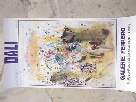 Cartel Dali - Les vendanges