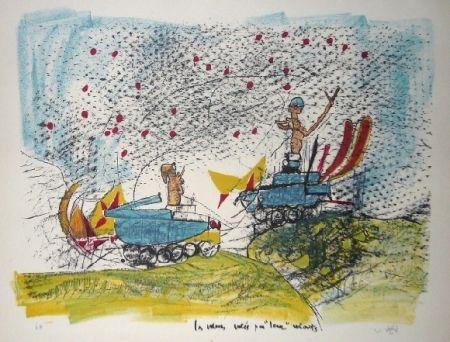 Litografía Matta - Les voleurs volés par leurs volants