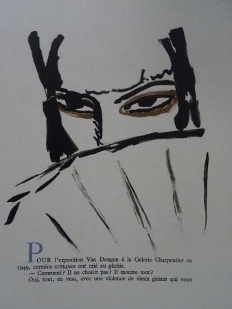 Litografía Van Dongen - L'Espagnole
