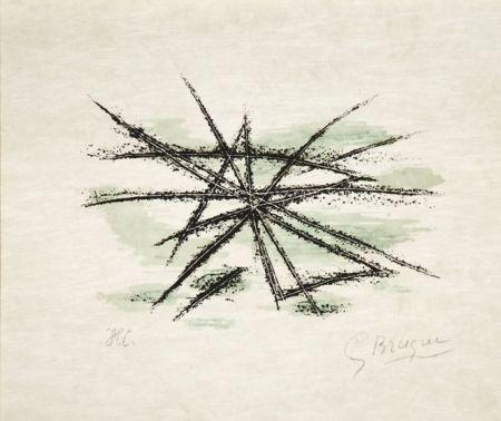 Litografía Braque - L'Etang From Lettera Amorosa, 1963