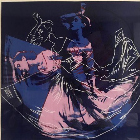 Serigrafía Warhol - Letter To The World (The Kick) (Unique)