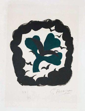 Litografía Braque - Lettera amorosa : métamorphose