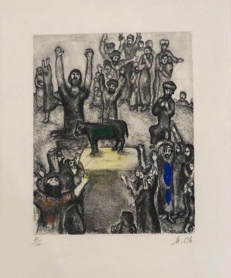 Aguafuerte Y Aguatinta Chagall - LeVeau d' Or
