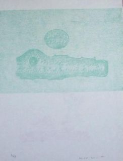Litografía Ernst - Lewis Caroll's Wunderhorn