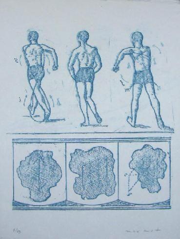 Litografía Ernst - Lewis Carroll's Wunderhorn 13