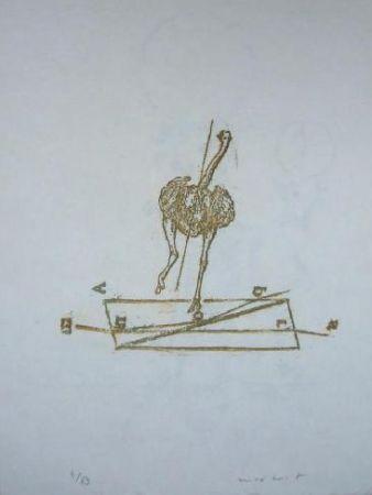 Litografía Ernst - Lewis Carroll's Wunderhorn 17
