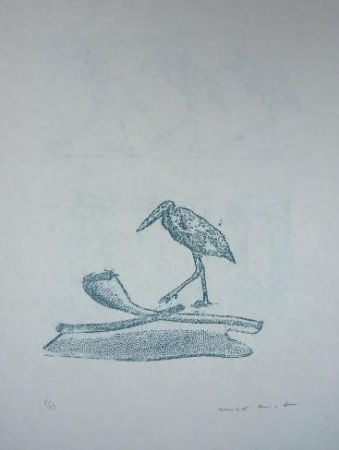 Litografía Ernst - Lewis Carroll's Wunderhorn 19