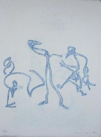 Litografía Ernst - Lewis Carroll's Wunderhorn 2