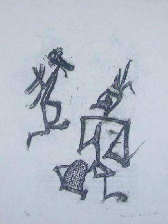 Litografía Ernst - Lewis Carroll's Wunderhorn 28