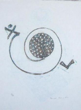 Litografía Ernst - Lewis Carroll's Wunderhorn 30