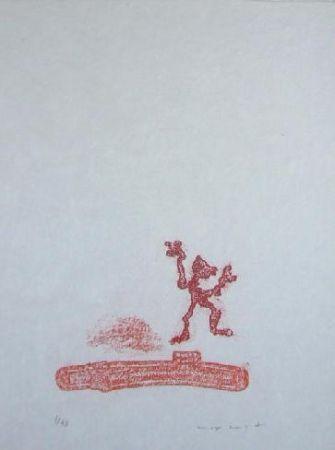 Litografía Ernst - Lewis Carroll's Wunderhorn 36