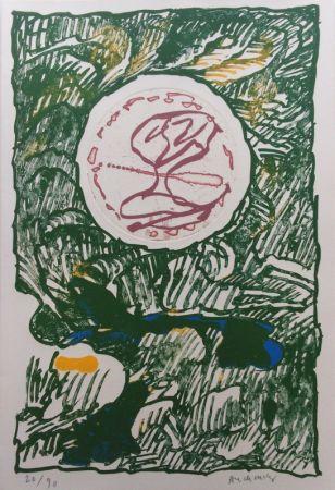 Litografía Alechinsky - L'Excédante 3