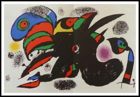 Litografía Miró - L'extrême origine