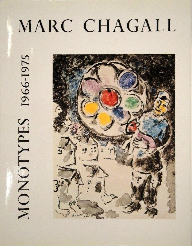 Libro Ilustrado Chagall - LEYMARIE, Jean. Marc Chagall Monotypes. (Volume II). 1966-1975.