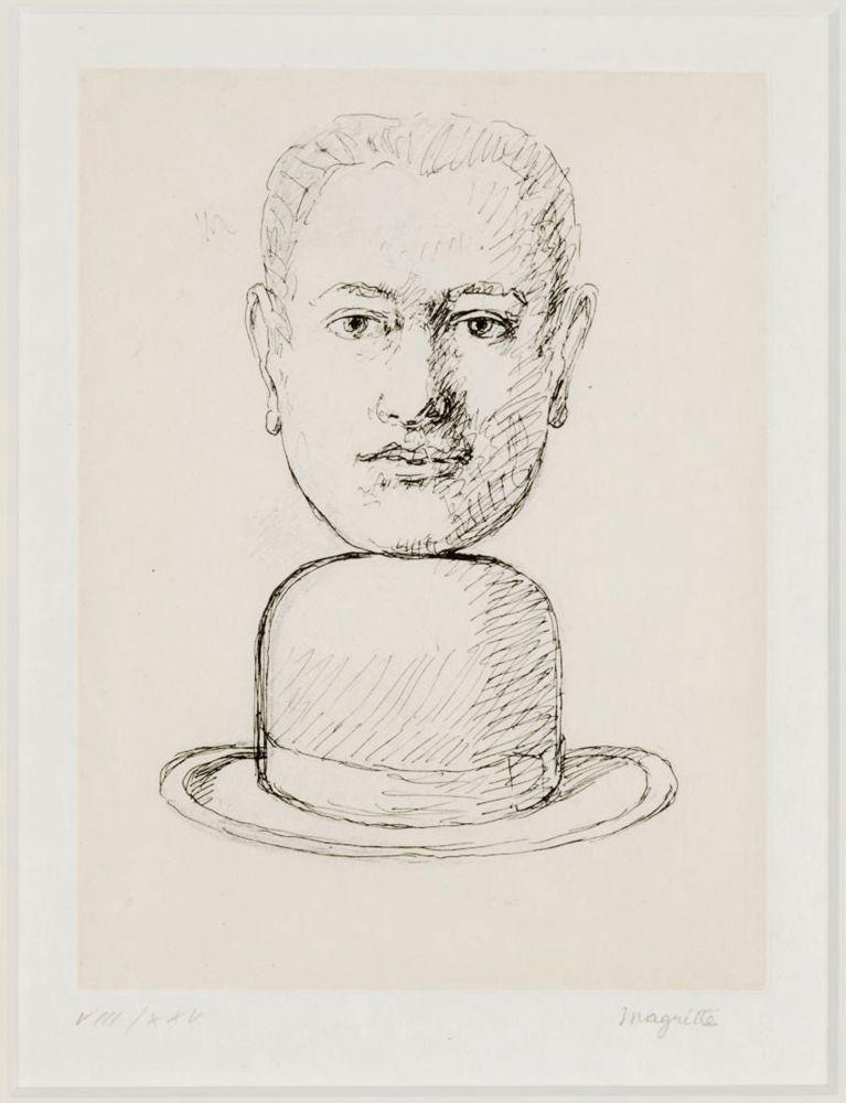 Sin Técnico Magritte - L'Homme au chapeau Melon
