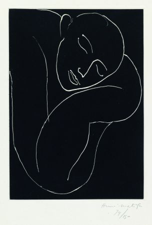 Aguatinta Matisse - L'Homme endormie