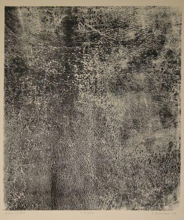 Litografía Dubuffet - L'humus - Le Preneur d'empreintes